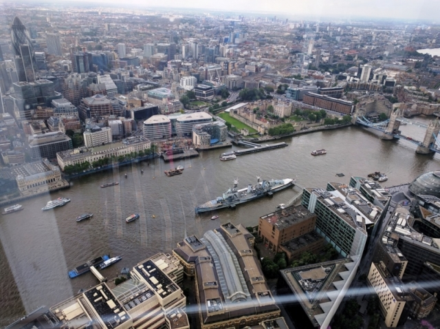 Londra view from The Shard (2)