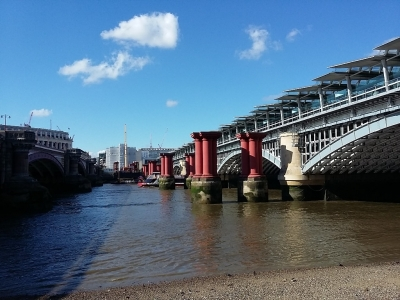 Londra Blackfriars Railway Bridge