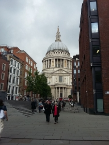 Londra St Paul Cathedral (1)