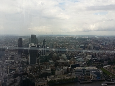 Londra view from The Shard (1)