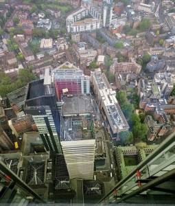 Londra view from The Shard (3)