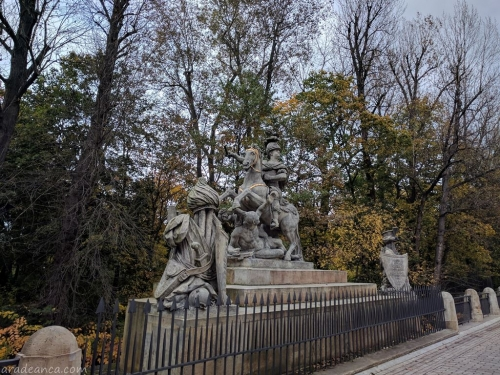 Varsovia (28) Jan III Sobieski monument in the Lazienki Park